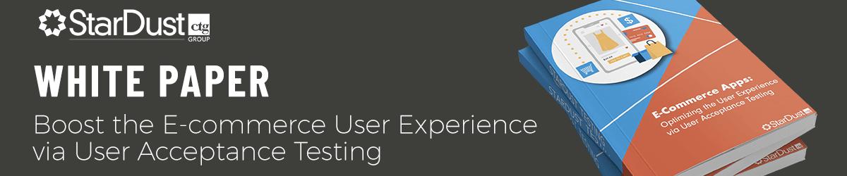 White paper: boosting the e-commerce UX via UAT